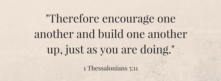 1 thessalonias 5:11