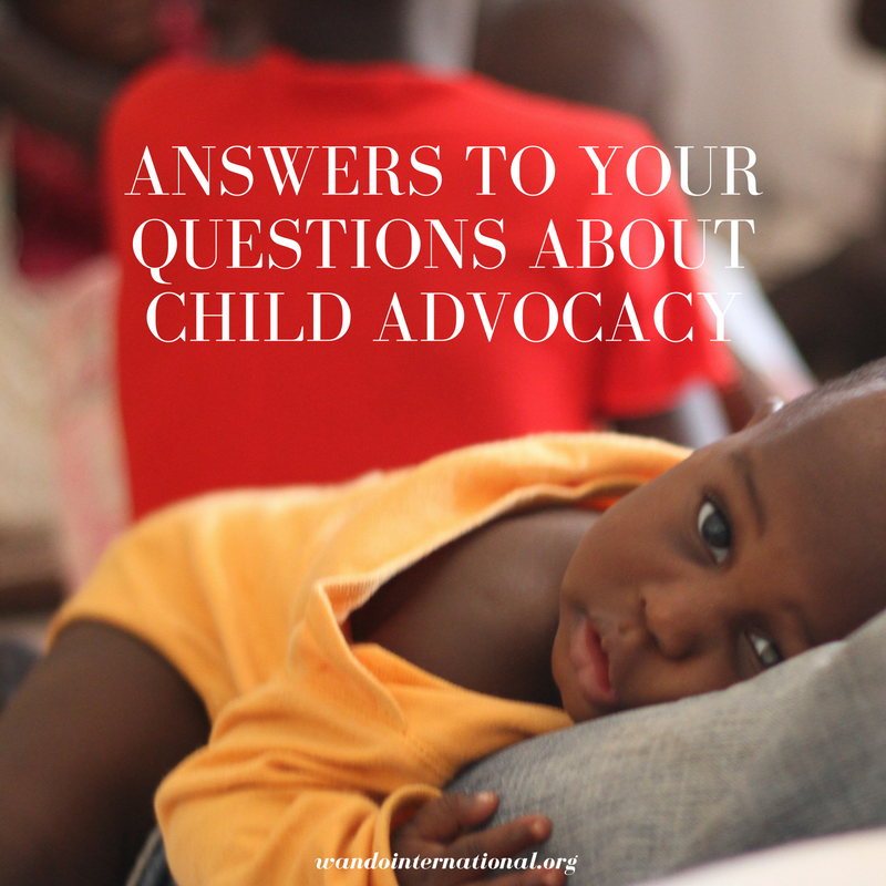 questions about child advocacy