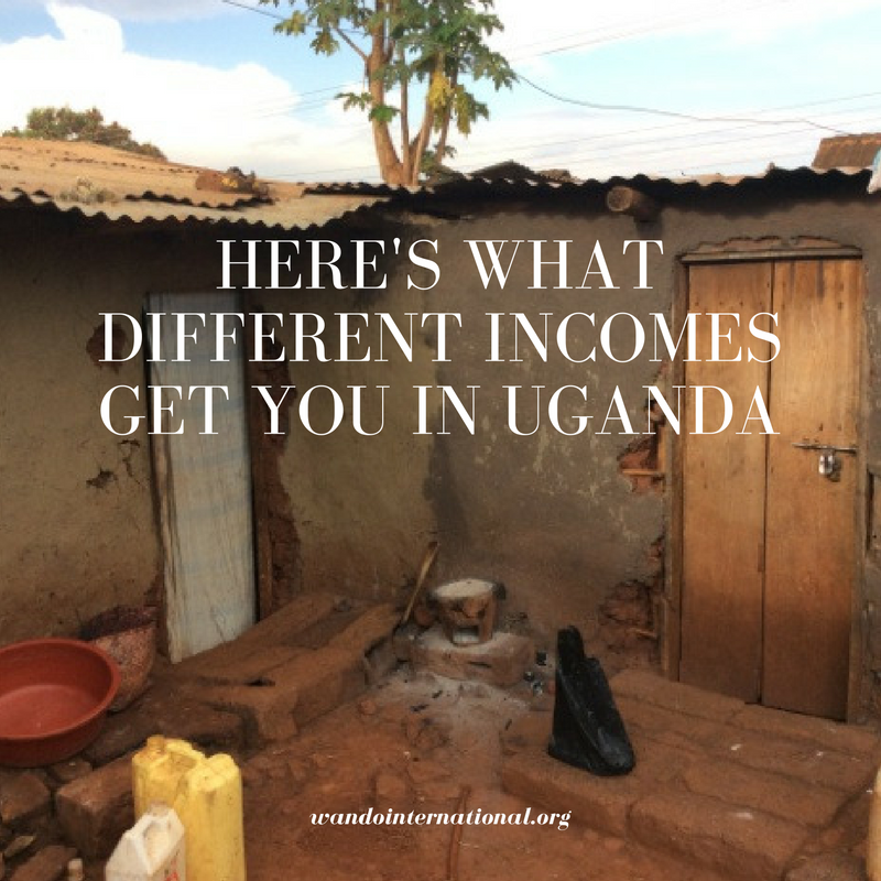 what incomes get you in uganda
