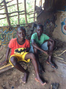 Two of our students who have a hard time getting to school.