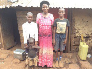 family-picture-of students-in-slums-uganda