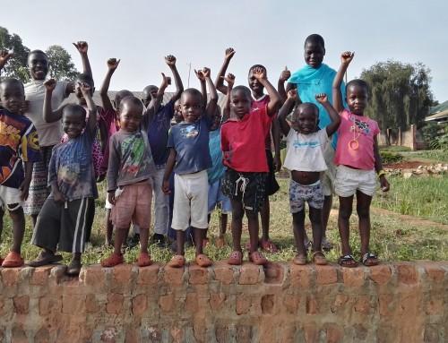 Healthy Children At Uganda Orphange