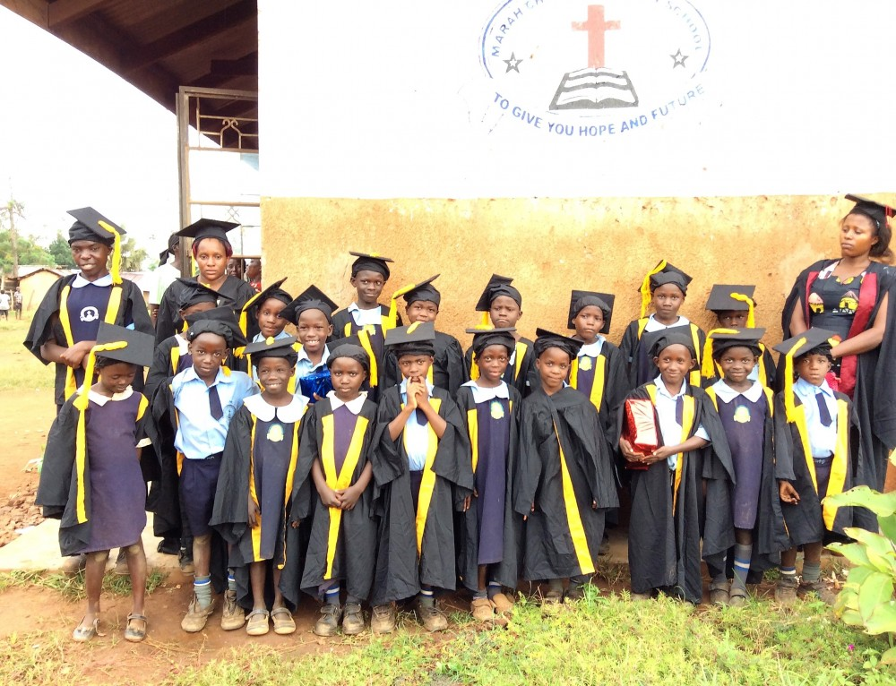 Graduation Day For Students in Uganda